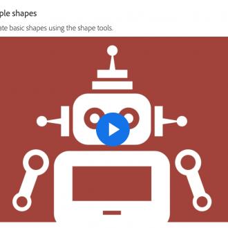 Create & Edit Shapes in Illustrator
