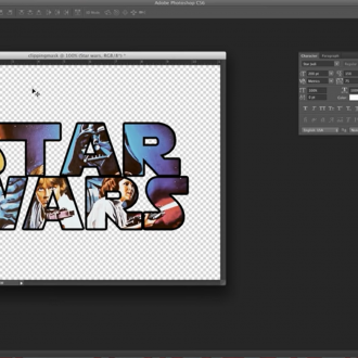 Making a clipping mask