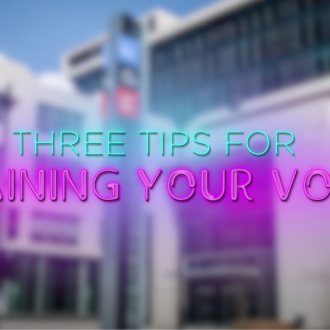 Training Your Voice