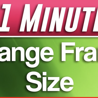 Changing Frame Size in Premiere Pro