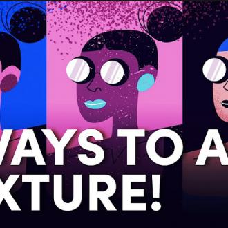 Create Texture in Illustrator
