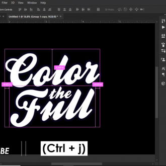 How to Create Colorful Text Effect in Photoshop