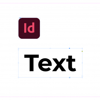 Changing text in InDesign
